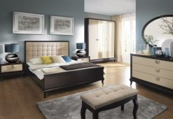 Łóżka z kolekcji Laviano