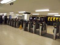 bramki obrotowe na lotnisku